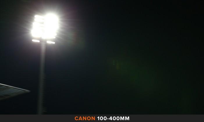 Flares 100-400mm Comparazione obiettivi