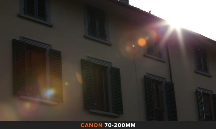 Flares 70-200mm Comparazione obiettivi