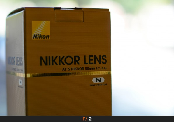 Aberrazioni f/2 Nikon 58mm f/1.4
