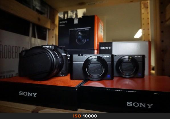 ISO 10000 Sony a6000