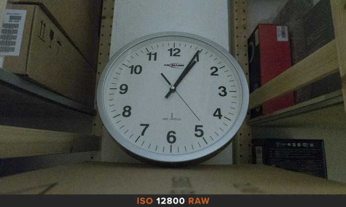 ISO12800 RAW Panasonic LX100