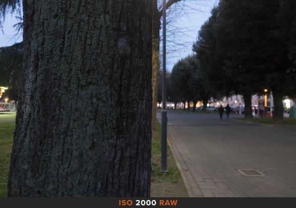 ISO2000 RAW Sony RX100 Mk II