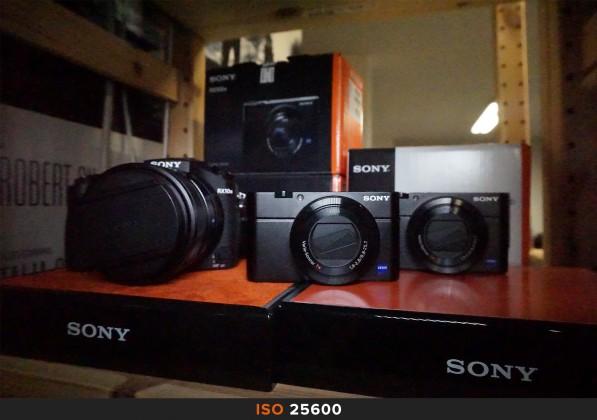 ISO 25600 Sony a6000