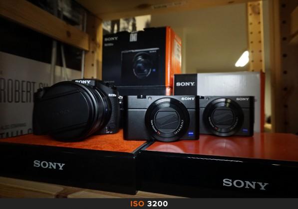 ISO 3200 Sony a6000