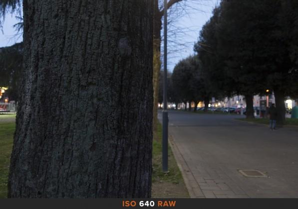 ISO640 RAW Sony RX100 Mk II