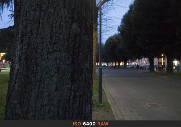 ISO6400 RAW Sony RX100 Mk II
