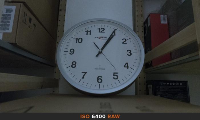ISO6400 RAW Panasonic LX100