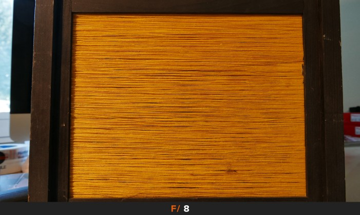 Nitidezza f/8 obiettivo Panasonic LX100