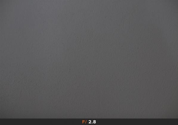 Vignettatura f/2.8 Canon 50mm f/1.2