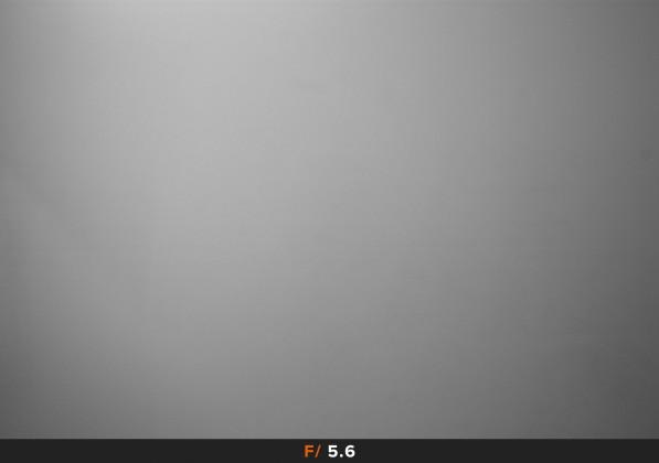 Vignettatura f/5.6 Samyang 14mm f/1.4