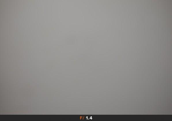 vignettatura f/1.4 fuji 16mm