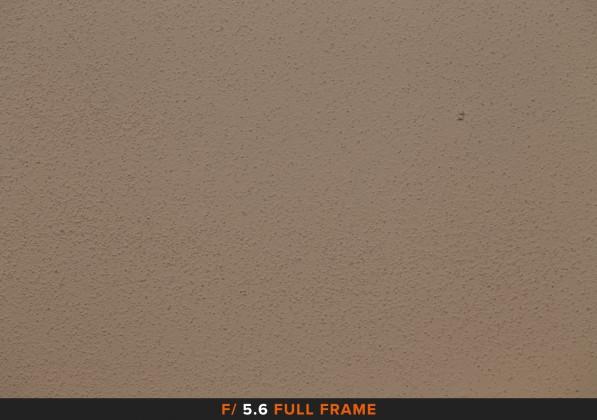 Vignettatura f/5.6 sigma 105mm Full Frame