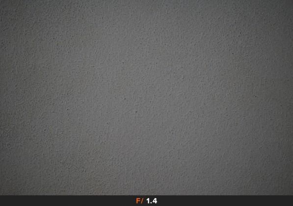 Vignettatura f/1.4 Sigma 50mm f/1.4 Art