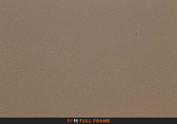 Vignettatura f/11 sigma 105mm Full Frame APS-C