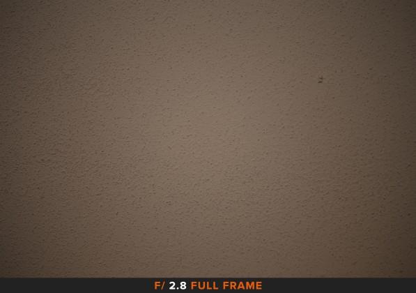 Vignettatura f/2.8 sigma 105mm Full Frame