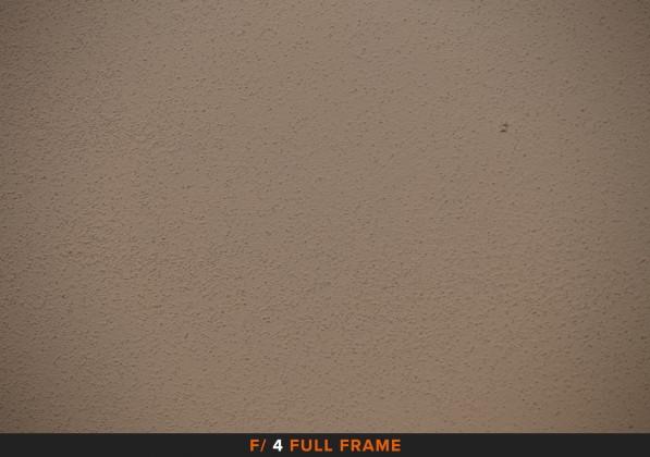 Vignettatura f/4 sigma 105mm Full Frame APS-C