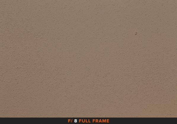 Vignettatura f/8 sigma 105mm Full Frame APS-C