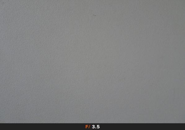 24mm f/3.5 Vignettatura Sony HX90