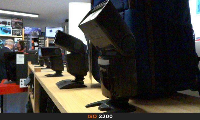 ISO 3200 Sony HX90