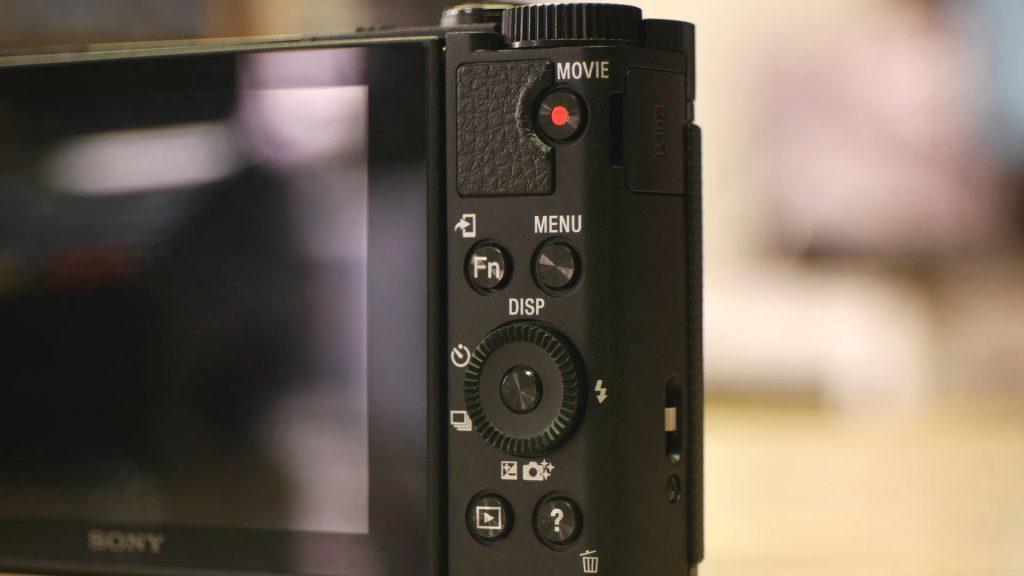 Interfaccia Sony HX90