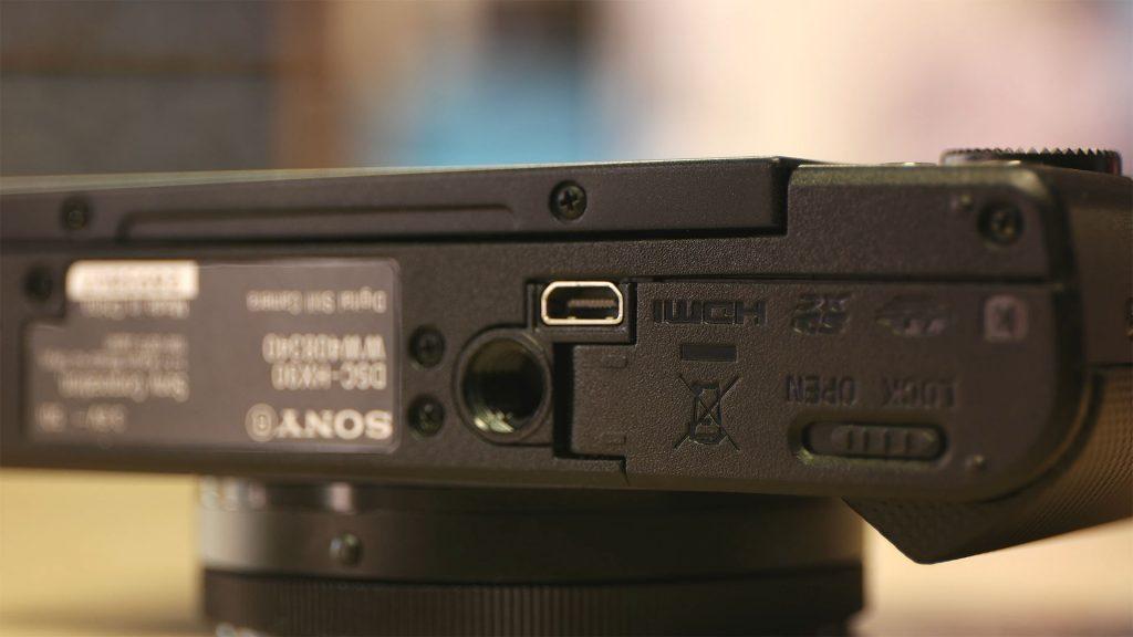 Micro HDMI Sony HX90