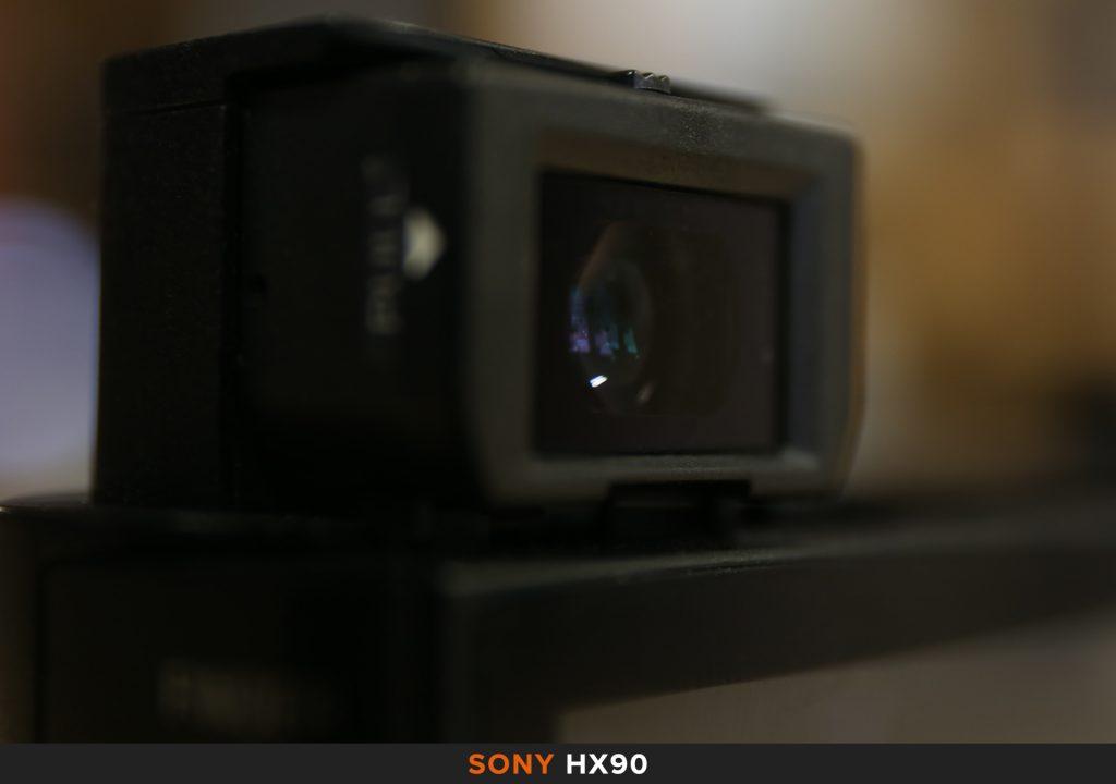 Mirino Sony HX90