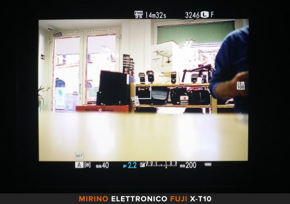 Mirino elettronico Fuji X-T10