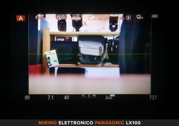 Mirino elettronico Panasonic LX100