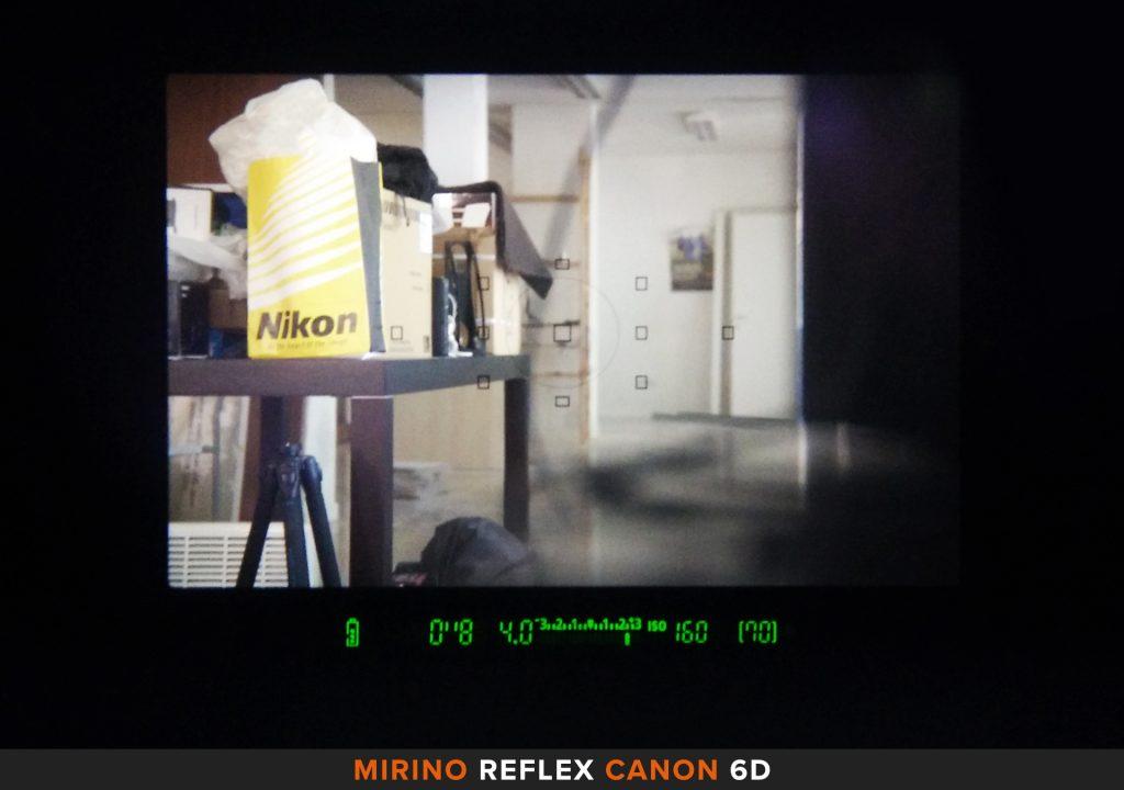 Mirino reflex Canon 6D