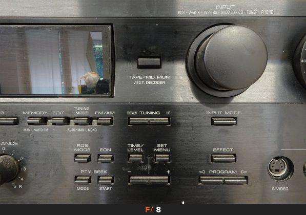 Nitidezza 24mm f/8 Sony HX90