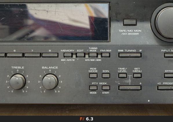 Nitidezza 500mm f/6.3 Sony HX90