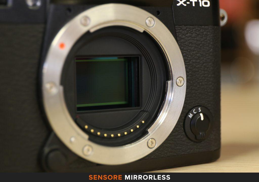 Sensore mirrorless