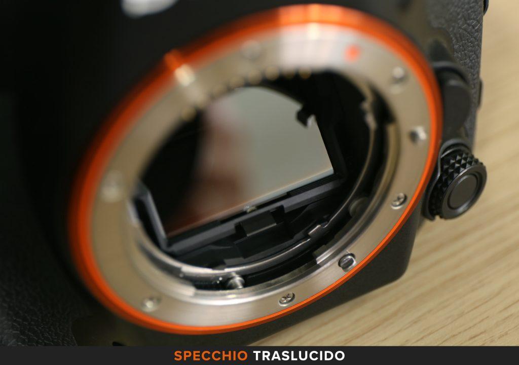 Specchio traslucido