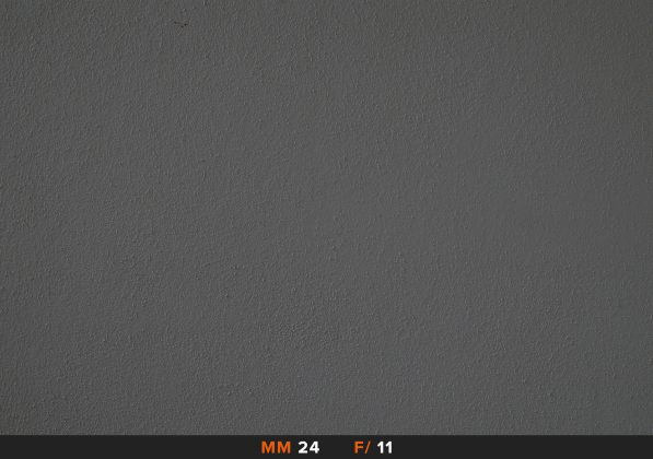 Vignettatura Sony 16-50mm 16mm f/11