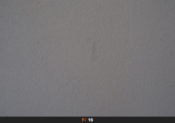 Vignettatura f/16 FujiFilm 35mm