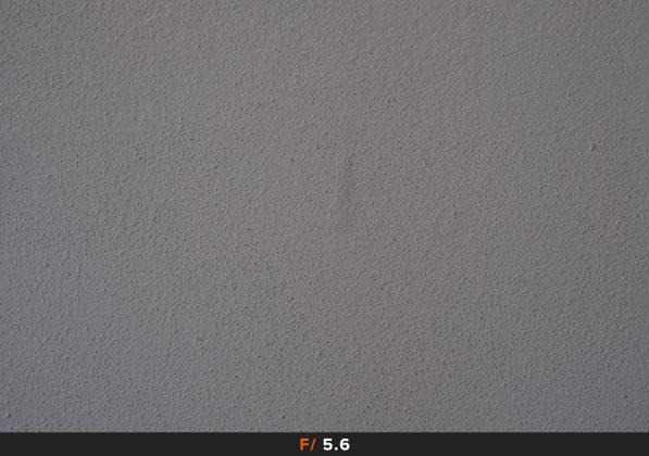 Vignettatura f/5.6 FujiFilm 35mm