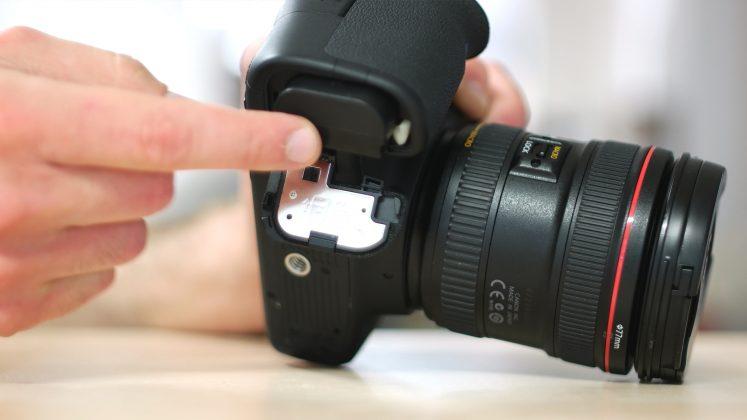 Batteria fotocamera tutorial ronin m