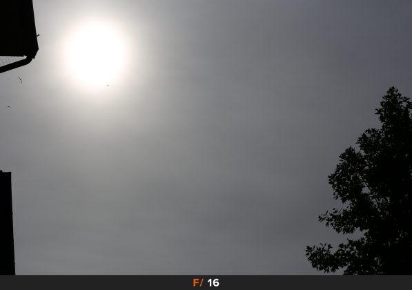 Flares f16 Zeiss Milvus 100mm
