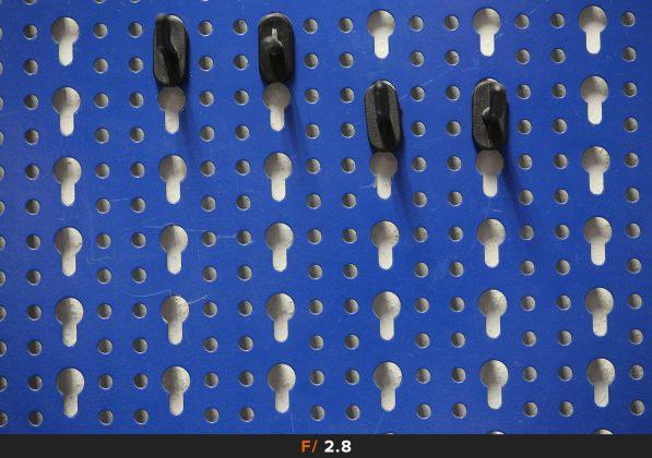 Nitidezza f2.8 Zeiss Milvus 100mm