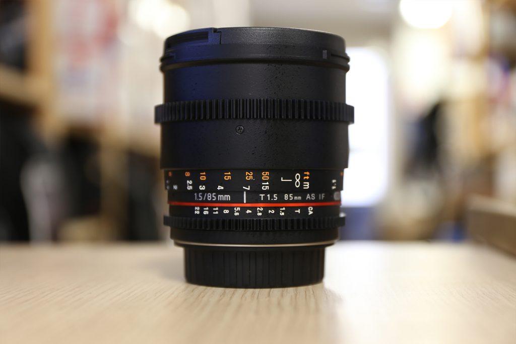 Samyang 85mm Obiettivo