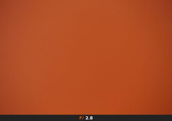 Vignettatura f2.8 Zeiss Milvus 100mm