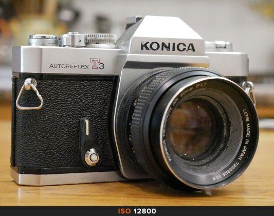 12800 Iso foto Panasonic GX80