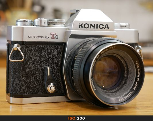 200 Iso foto Panasonic GX80