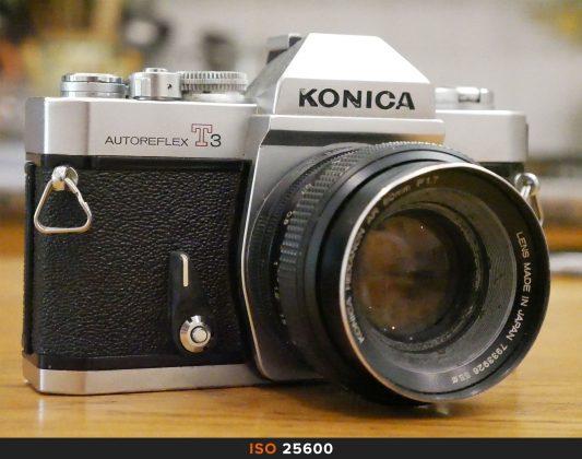25600 Iso foto Panasonic GX80
