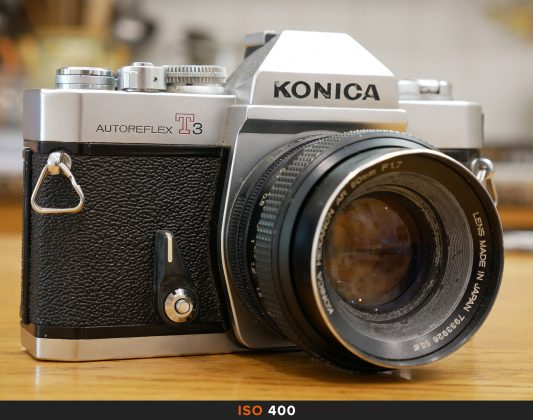400 Iso foto Panasonic GX80