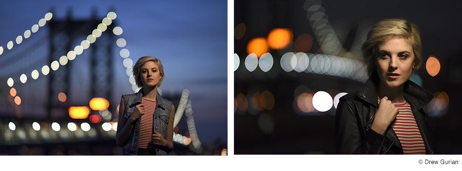 Bokeh Nikon 105mm f/1.4