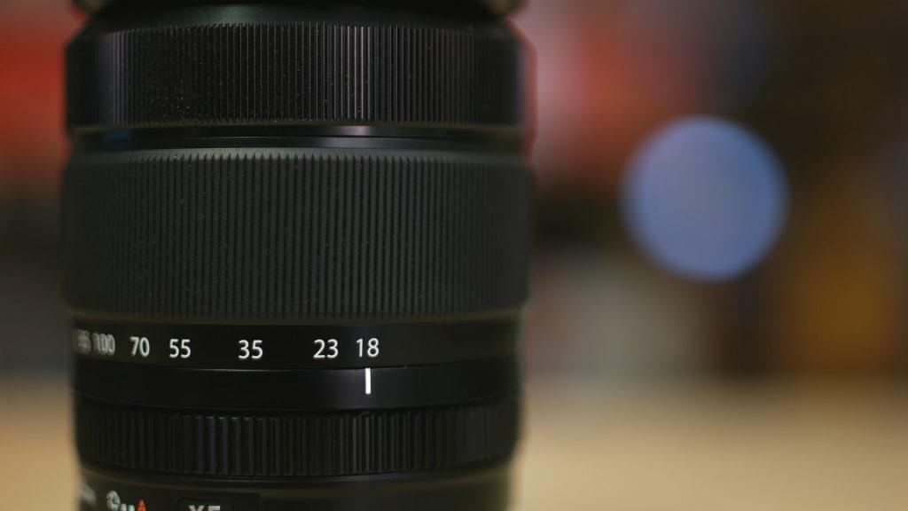 Ghiere Fuji 18-135mm