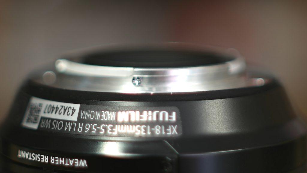 Guarnizione Fuji 18-135mm