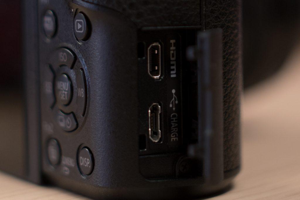 Input output Panasonic GX80