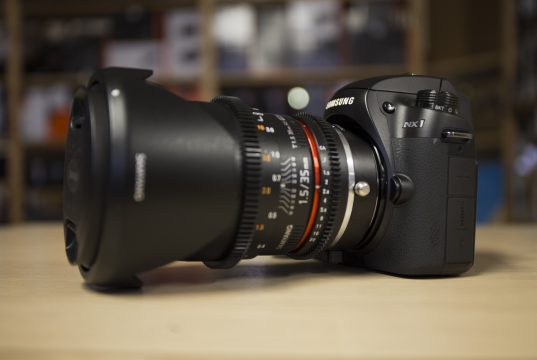 Samyang 35mm T1.5 - Buon Obiettivo VDSLR